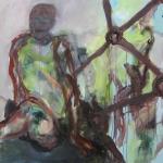 Ausgegrenzt | Acryl auf Leinwand | 2009 | 100  x 140 cm