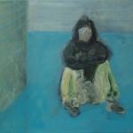 Die Einsamkeit | Acryl auf Leinwand | 2009 | 50  x 60 cm