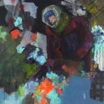 Eigenwelt 02 | Acryl auf Leinwand | 2014 | 160  x 160 cm