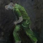 Einzelgaenger | Acryl auf Leinwand | 2009 | 60  x 50 cm