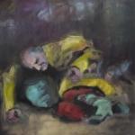 ? | Acryl auf Leinwand | 2011 | 110 x 110 cm