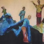 Die Gemeinschaft | Acryl auf Leinwand | 2011 | 160 x 210 cm