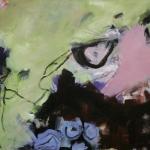 Im Mai | Acryl / Oelkreide auf Leinwand | 2008 | 130 x 180 cm