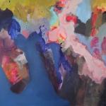 In Bewegung   Acryl auf Leinwand   2012   100 x 100 cm