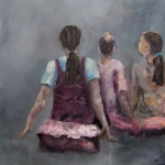 Kinder 2010 | Acryl auf Leinwand | 2010 | 120 x 120 cm