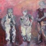 Kinder | Acryl auf Leinwand | 2009 | 130 x 160 cm