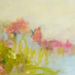 Leichtes Treiben   Acryl auf Leinwand   2016   100 x 120 cm
