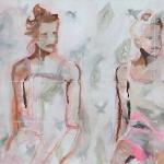 Maedchen | Acryl auf Leinwand | 2009| 110  x 150 cm