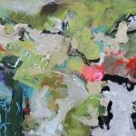 Raum der Fantasie | Mischtechnik auf Leinwand | 2008 | 160 x 200 cm