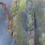 Schutzlos | Acryl auf Leinwand | 2009 | 140  x 110 cm