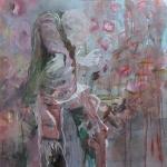 Schwebender Zustand | Acryl auf Leinwand | 2009 | 140  x 110 cm