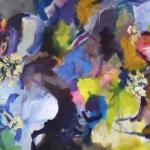 Sommererinnerung   Acryl auf Leinwand   2011   120 x 200 cm
