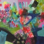 Sommeridee   Mischtechnik auf Leinwand   2014   130  x 180 cm