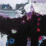 Versteckspiel | Mischtechnik auf Leinwand | 2008 | 100 x 100 cm