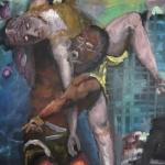 Versteinerung | Acryl auf Leinwand | 2011 | 180 x 210 cm