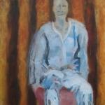 Wartend I | Acryl auf Leinwand | 2009 | 80  x 60 cm