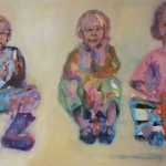 Wir sind ... | Acryl auf Leinwand | 2011 | 120 x 200 cm