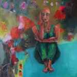 Eigenwelt 04 | Acryl auf Leinwand | 2015 | 160  x 140 cm