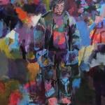 On the way | Acryl auf Leinwand | 2015 | 160  x 140 cm