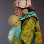WOHIN... | Acryl auf Leinwand | 2015 | 120  x 100 cm
