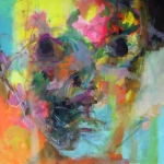 AN-BLICK 01 |  Acryl auf Leinwand | 2015 | 80 x 80 cm
