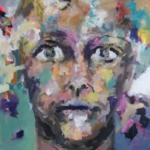 AN-BLICK 06 |  Acryl auf Leinwand | 2016 | 120 x 120 cm