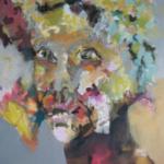 AN-BLICK 07 |  Acryl auf Leinwand | 2016 | 120 x 120 cm