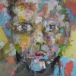 AN-BLICK 09 |  Acryl auf Leinwand | 2016 | 120 x 120 cm