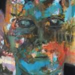 Gedankenspuren 001 | Mischtechnik auf Papier | 2015 | 76 x 56 cm