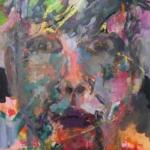 Gedankenspuren 005 | Mischtechnik auf Papier | 2015 | 76 x 56 cm
