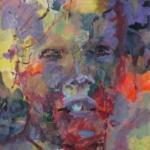 Gedankenspuren 007 | Mischtechnik auf Papier | 2015 | 76 x 56 cm