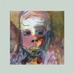 Kleine Eigenwelt 002 | Mischtechnik auf Papier | 2014 | ca 20 x 20 cm
