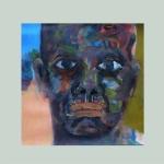 Kleine Eigenwelt 016 | Mischtechnik auf Papier | 2014 | ca 20 x 20 cm