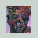Kleine Eigenwelt 034 | Mischtechnik auf Papier | 2016 | ca 20 x 20 cm