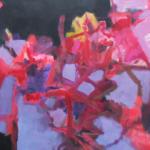 Erinnerungsfelder   Acryl auf Leinwand   2017   2 x 110 x 110 cm