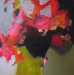 Freudiges Treiben   Acryl auf Leinwand   2017   80 x 80 cm