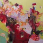 Gefühl des völligen Aufgehens    Acryl auf Leinwand   2017   80 x 80 cm