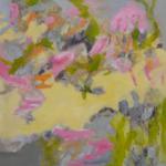 Leichtigkeit liegt in der Luft   Acryl auf Leinwand   2017   100 x 100 cm