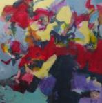 Verwandlung   Acryl auf Leinwand   2017   100 x 100 cm