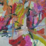 UN-ORDNUNG XXL 009 | Mischtechnik auf Papier | 2017 | ca. 80 x 115 cm